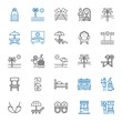 relax icons set