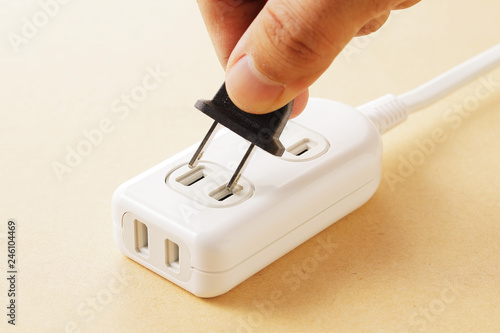 Photo 電源タップ multiple socket outlet
