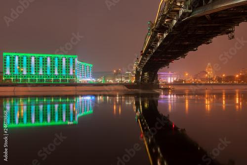 Fotobehang Aziatische Plekken Moskau zur Weihnachtszeit 2019