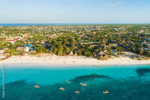 Poster Zanzibar sea view to Zanzibar island