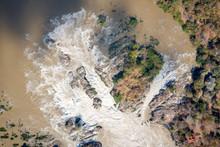 Top View Khone Phapheng WaterFall