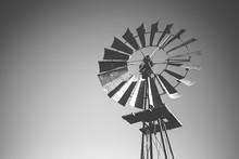 Close Up Image Of A Windpump /...