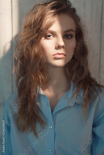 Foto op Plexiglas womenART Lifestyle portrait of young beautiful lady