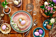 Easter Table Setting, View Fro...