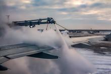 A Process Of Spraying Anti-ici...