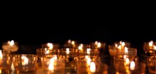 Candles In Temple