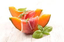 Melon And Prosciutto Ham