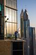 Dubai city view, United arabic emirates