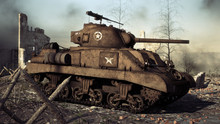 American Allied Medium Tank St...