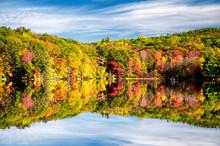Burr Pond State Park Autumn New England