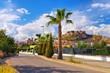 canvas print picture - die alte Stadt Onda, Castellon in Spanien - the old town of Onda, Castellon