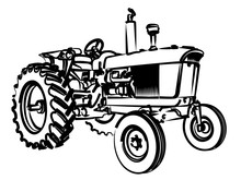 The Tractor Sketch.