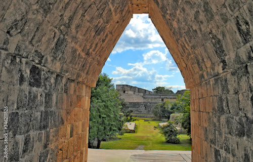 Fényképezés  Uxmal - ancient Maya city of the classical period in present-day Mexico