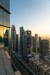 Dubai skyline skyscrapes 2019, United arabic emirates