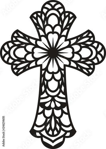 Cuadros en Lienzo Mandala Cross