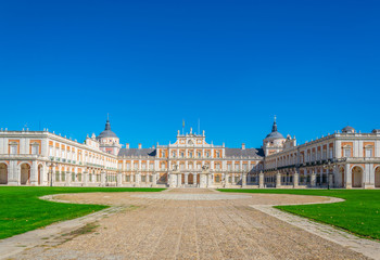 Royal palace at Aranjuez, Spain