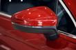 Side car mirror close-up. Details of luxury car. Car detail. Exterior detail