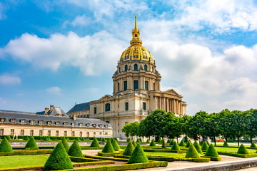 Les Invalides (National Residence of the Invalids) in Paris, France