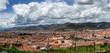 Panoramablick auf Cusco mit dem Plaza de Armas