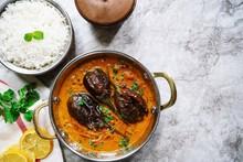 Dahi Baingan / Eggplant Yogurt Curry-Popular Odia Dish FromIndia