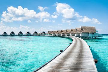 Luxus Urlaub in einem Overwater Bungalow