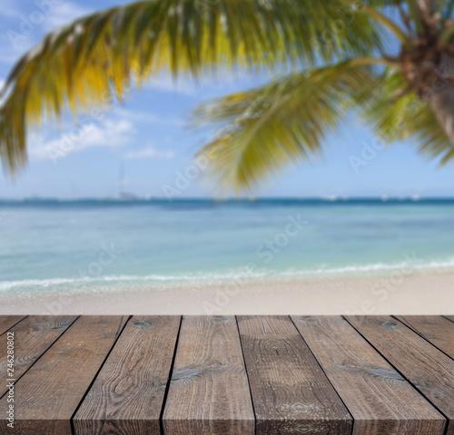 Foto auf Gartenposter Strand Abstract light bokeh