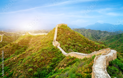Papiers peints Muraille de Chine The Great Wall of China.
