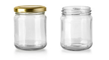 Glass Jar Isolated