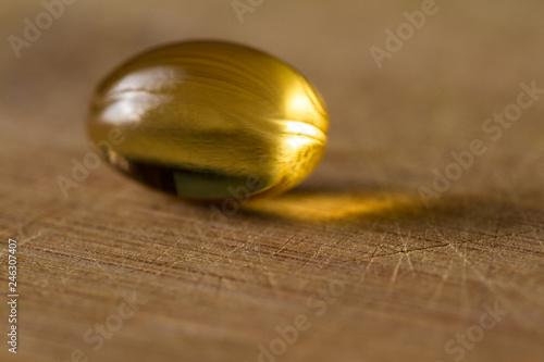 Fotografia, Obraz CBD oil capsule