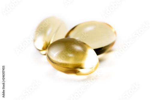 Valokuva  CBD oil capsules
