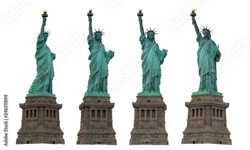 Liberty statue Fototapet