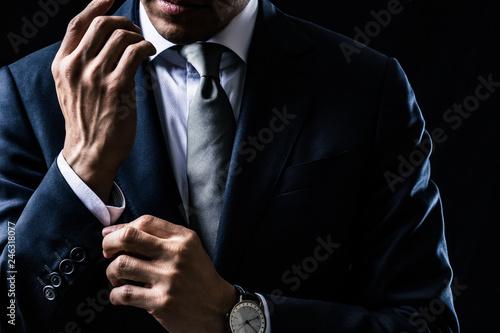Obraz na plátně ビジネスマンのポートレート