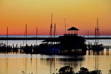 Biloxi Sunset On The Sea