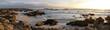 Leinwandbild Motiv California coast at sunset