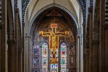 Firenze, Interno Santa Maria N...