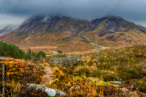 Photo Buachaille Etive Mòr from the Devil's Staircase
