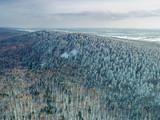 Góry Świętokrzyskie zimą