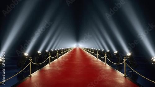 Photo  Loop red carpet animation