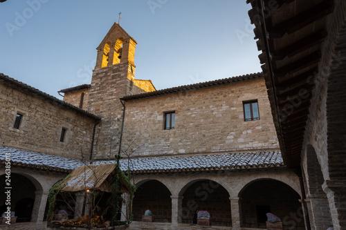 Fototapeta Assisi chiesa di San Damiano