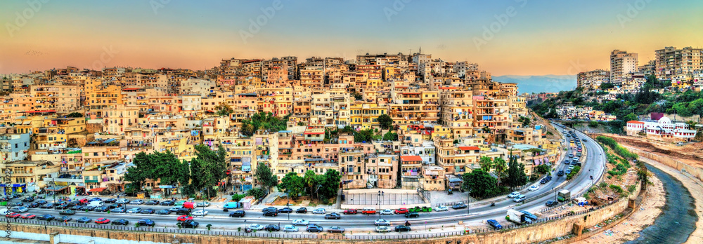 Fototapety, obrazy: View of Tripoli, the second-largest city in Lebanon