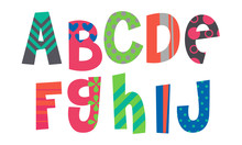 Designer Alphabets Part 1