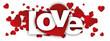 Leinwandbild Motiv love