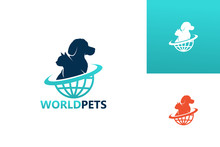 World Pets Logo Template Desig...