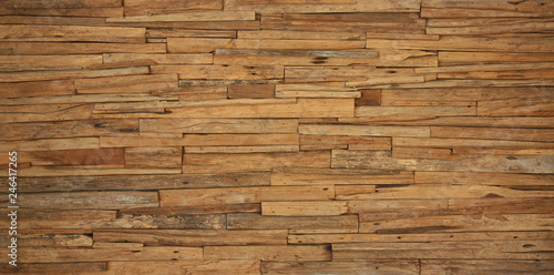 Poster Wall Brown wood texture
