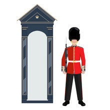 Sentry Of The Grenadier Guards...