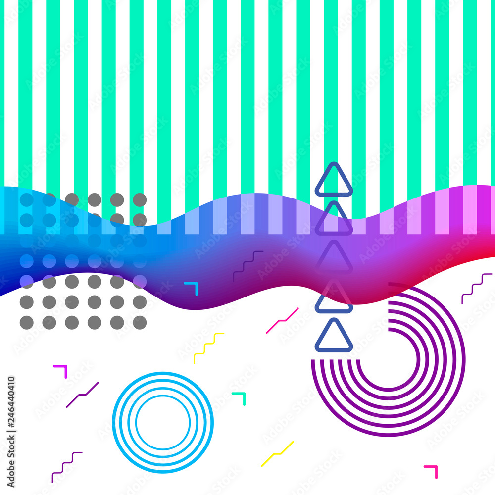 Modern abstract art collage in contemporary style.