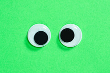 Mad Googly Eyes On Neon Green ...