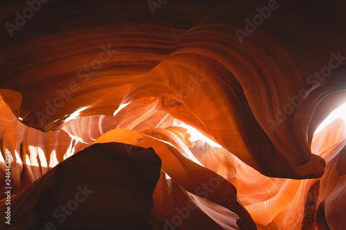Spoed Fotobehang Antilope Grand Canyon nature footage in Arizona USA