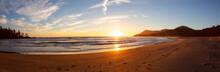 Beautiful Sandy Beach On The P...