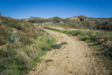 Walking Path In California Hills